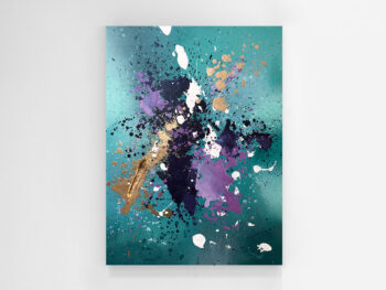 Feather Abstract Painting
